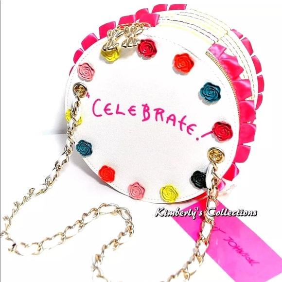 Betsey Johnson Handbags - Sold Out! Betsey Johnson Cake Handbag Purse NWT